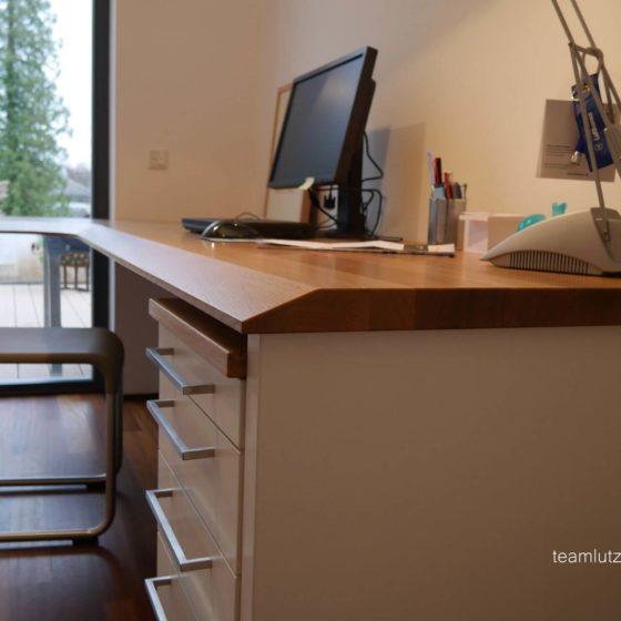 Schreibtisch Platte Massiv