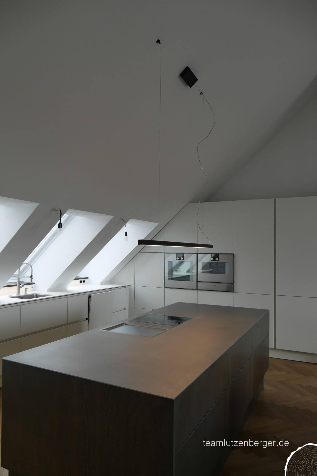 Küche Penthouse München - Teamlutzenberger