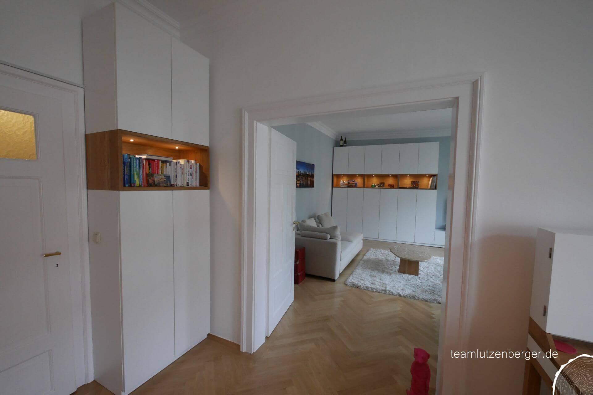 Wohnzimmer Einbauschrank