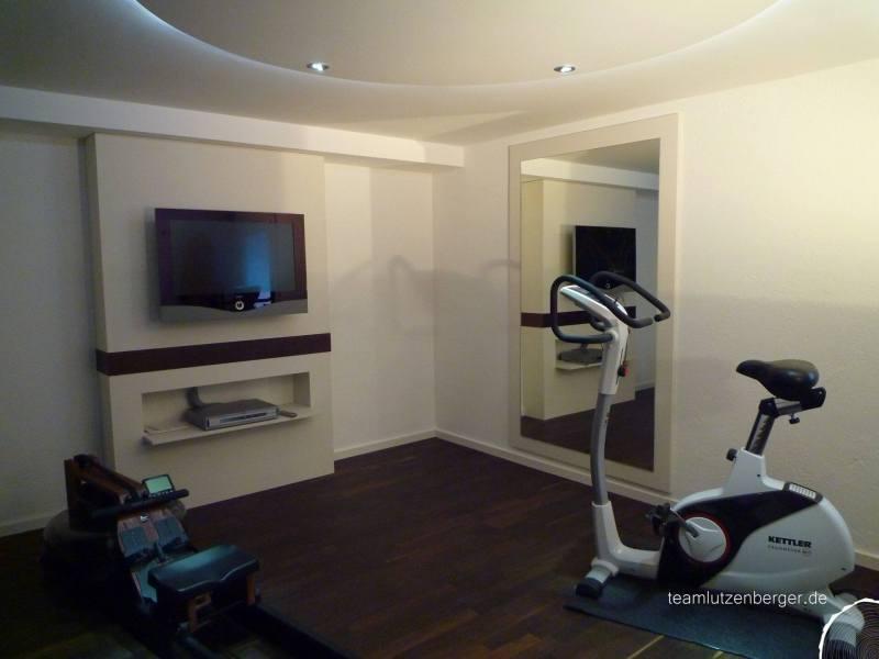 Fitneszimmer Spiegel